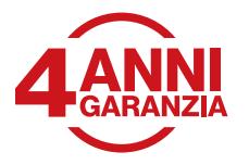 4 ANNI GARANZIA