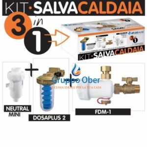 KIT ATLAS SALVA CALDAIA 3 IN 1 : DOSAPLUS 2 – FDM 1 – NEUTRAL MINI