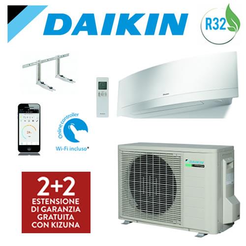 Climatizzatore DAIKIN EMURA WHITE Btu wifi incluso + Staffe